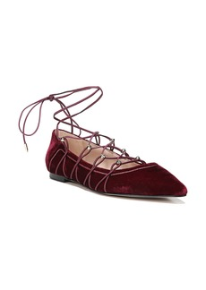 Sam Edelman Rockwell Ghillie Pointy Toe Flat (Women)