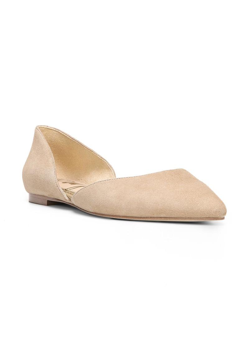 Sam Edelman Rodney Pointy Toe d'Orsay Flat (Women)