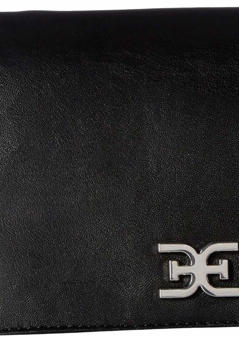 Sam Edelman Rose Flap Shoulder Bag black