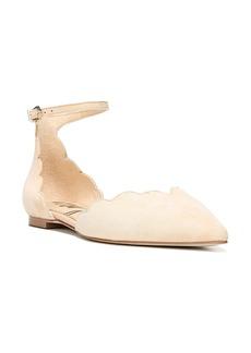 Sam Edelman Rowan Scalloped Pointy Toe Flat (Women)