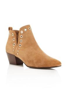 Sam Edelman Rubin Grommet Block Heel Booties