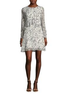 Sam Edelman Ruffled A-Line Dress