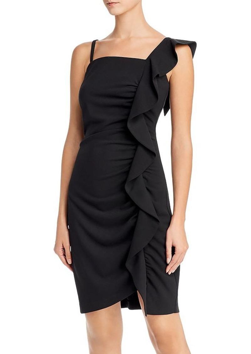 Sam Edelman Ruffled Cocktail Dress