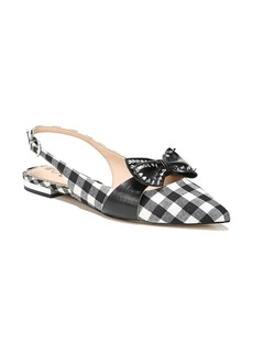 Sam Edelman Rupert Bow Pointy Toe Flat (Women)
