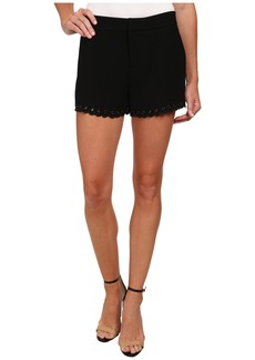 Sam Edelman Scalloped Polka Dot Shorts