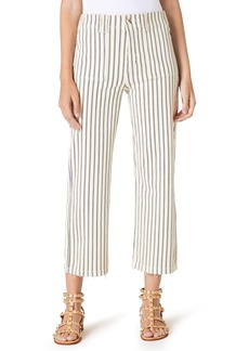 Sam Edelman Se the Chelsea Lindi Stripe Wide Leg Pants