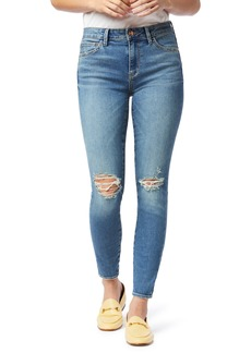 Sam Edelman Se the Kitten Ripped Ankle Skinny Jeans (Katmai)