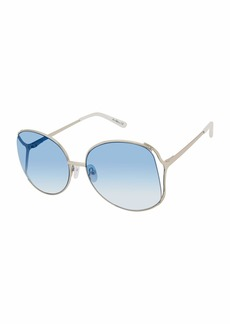 Sam Edelman SE145 Round Vented Metal UV Protective Sunglasses | Wear All-Year | A Gift of Luxury