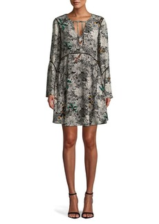 Sam Edelman Self-Tie Floral Dress