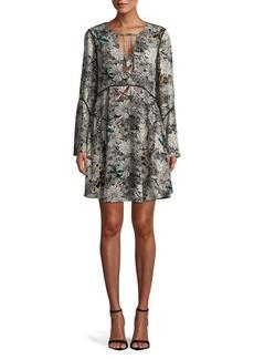 Sam Edelman Self-Tie Floral Dress