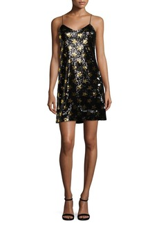 Sam Edelman Sequined Star Mini Dress