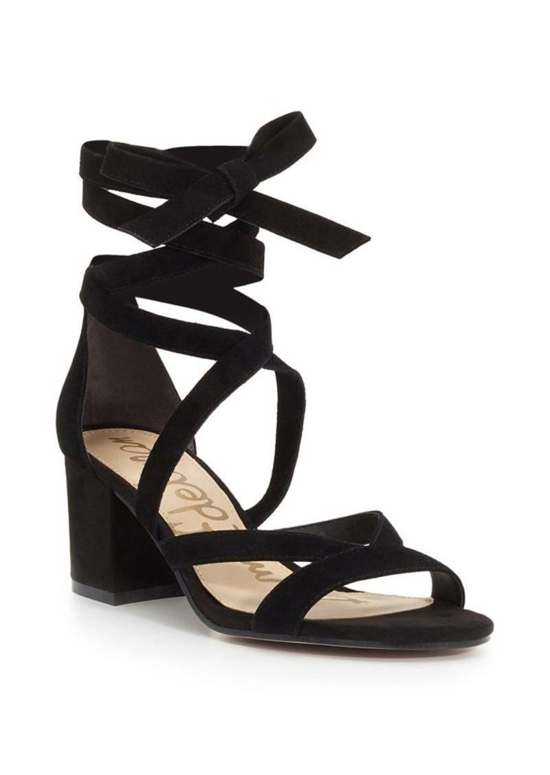 6a3bb915e8f Sam Edelman Sheri Suede Block Heel Sandals