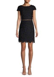 Sam Edelman Short Sleeve Lace Dress