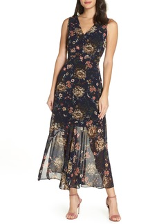 Sam Edelman Sleeveless Floral Maxi Dress