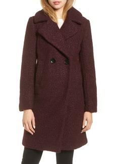 Sam Edelman Snap Button Bouclé Coat