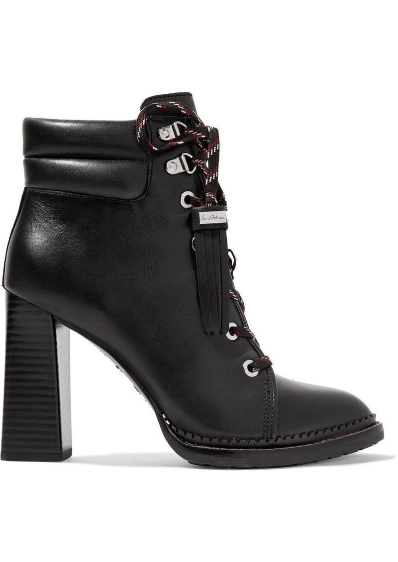 430ddf4b0 Sam Edelman Sam Edelman Sondra lace-up leather ankle boots