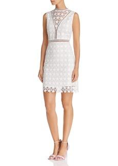 Sam Edelman Star-Lace Sheath Dress