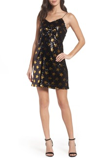 Sam Edelman Star Sequin Slipdress