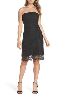 Sam Edelman Strapless Lace Dress