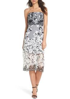 Sam Edelman Strapless Midi Dress