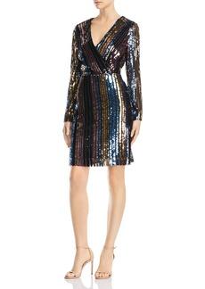 Sam Edelman Striped Sequin Dress
