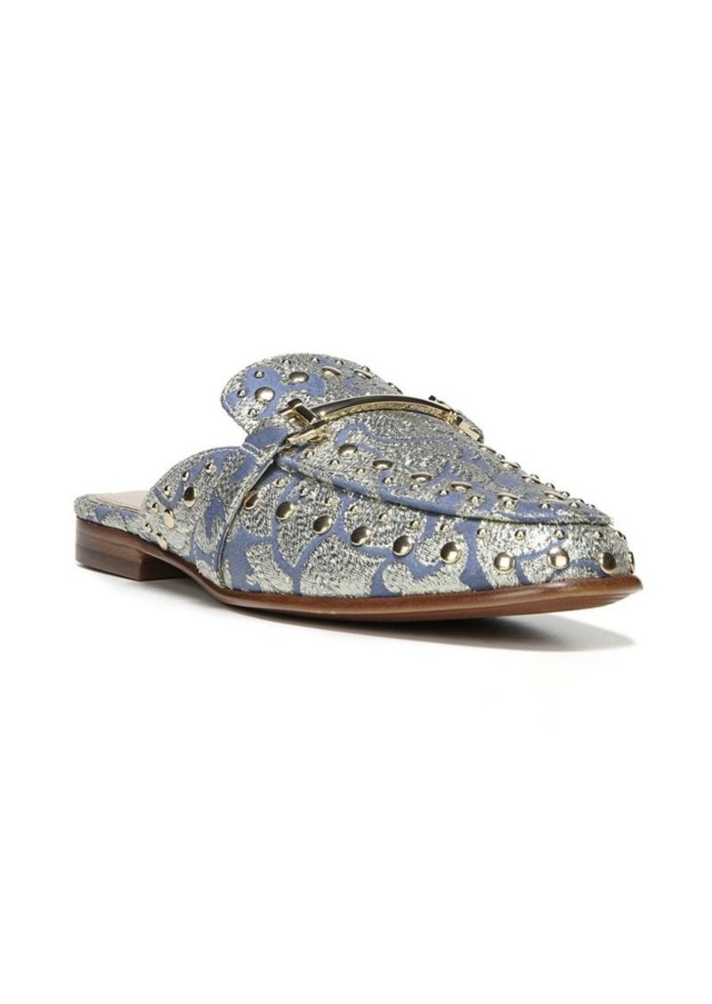 0888570be Sam Edelman Sam Edelman Studded and Embroidered Textile Mules