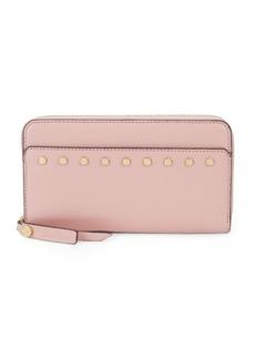 Sam Edelman Studded Zip-Around Wallet