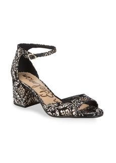 Sam Edelman Susie Embroidered Sandals