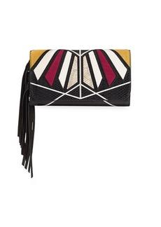 Sam Edelman Talia Colorblock Wallet On A String