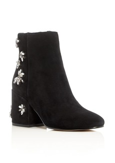 Sam Edelman Taye Embellished Block Heel Booties