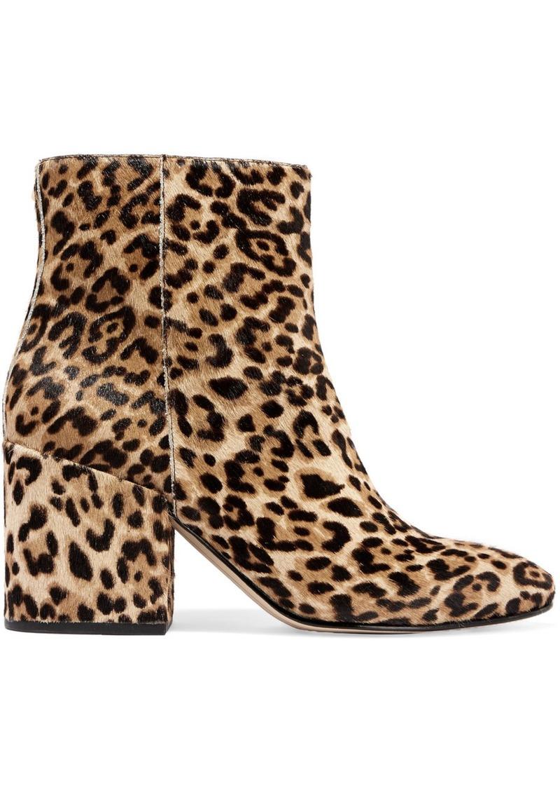 a790f8d11a62 Sam Edelman Sam Edelman Taye leopard-print calf hair ankle boots Now ...
