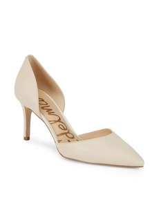 Sam Edelman Telsa Leather dOrsay Pumps