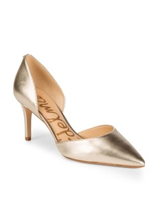 Sam Edelman Tesla Leather D'Orsay Pumps