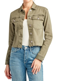 Sam Edelman The Aimmie Cotton Blend Utility Jacket