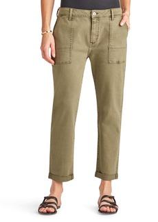 Sam Edelman The Cargo Cotton Blend Utility Pants
