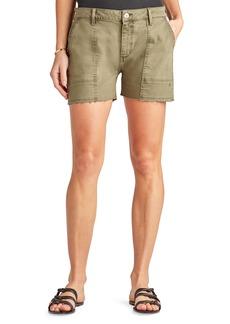 Sam Edelman The Cargo Cotton Blend Utility Shorts