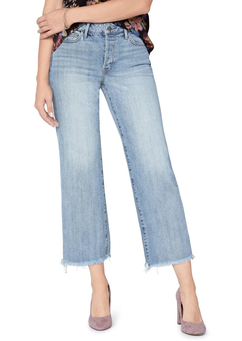 Sam Edelman The Chelsea Crop Wide Leg Jeans (Hunter)