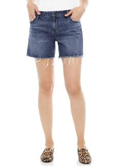 Sam Edelman The Derby Cutoff Stretch Denim Shorts (Leighton)