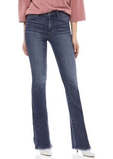 Sam Edelman The High Rise Fringe Detail Bootcut Jeans (Ruth)