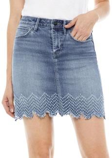 Sam Edelman The Jenny High-Rise Denim Skirt