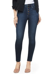 Sam Edelman The Stiletto Button Fly High Waist Ankle Skinny Jeans (Jacob)