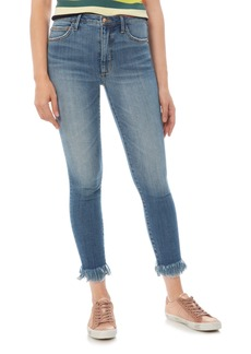 Sam Edelman The Stiletto Fringe Hem Crop Jeans (Myley)
