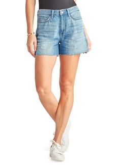 Sam Edelman The Stiletto Raw Hem Cutoff Denim Shorts (Zariyah)