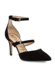 Thea Suede Point Toe Pumps
