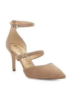 Sam Edelman Thea Suede Point Toe Pumps