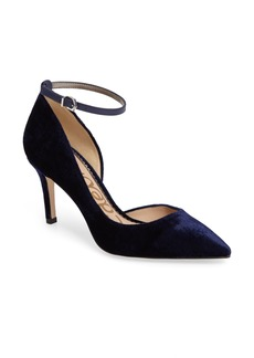 Sam Edelman Tia Ankle Strap Pump (Women)