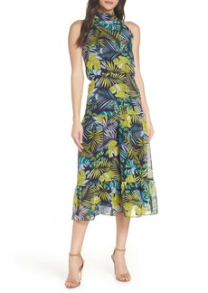 Sam Edelman Tropics Chiffon Midi Dress