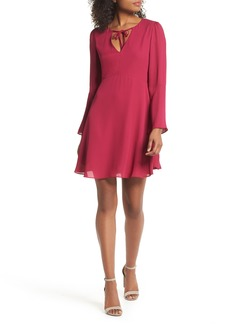 Sam Edelman Trumpet Sleeve Dress