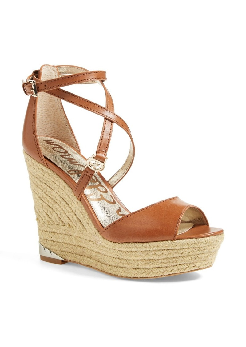 Sam Edelman 'Turner' Espadrille Wedge Sandal (Women)