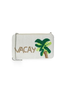Sam Edelman Vacay Mini Beaded Convertible Clutch